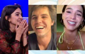 Manu Gavassi conversa com namorado e Bruna Marquezine em entrevista na Rede BBB