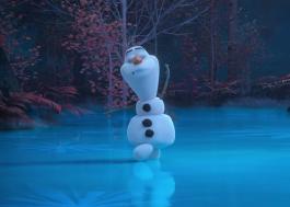 """Olaf dança sozinho na floresta em novo episódio fofo de """"At Home With Olaf"""""""