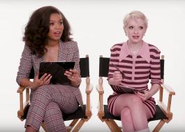 "Jaz Sinclair e Lachlan Watson, de ""O Mundo Sombrio de Sabrina"", jogam Stop em vídeo da Netflix"