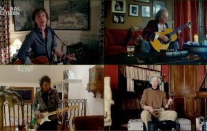 """Cheios de nostalgia, The Rolling Stones tocam """"You Can't Always Get What You Want"""" no """"Together At Home"""""""