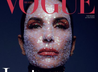 Ivete Sangalo poderosa pra Vogue