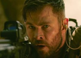 "Chris Hemsworth interpreta mercenário no trailer de ""Resgate"", novo filme da Netflix"