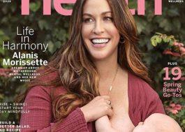 Capa da Health Magazine, Alanis Morissette fala sobre depressão pós-parto e novo álbum