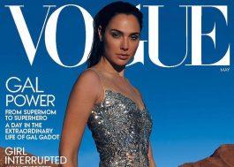 """Capa da Vogue, Gal Gadot fala sobre """"Mulher-Maravilha 1984"""" e a rotina na quarentena"""
