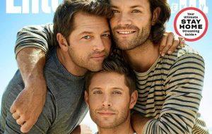 "Jensen Ackles, Jared Padalecki e Misha Collins comentam fim da série ""Supernatural"""