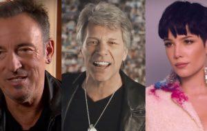 Bruce Springsteen, Bon Jovi, Halsey e mais participarão de show remoto beneficente