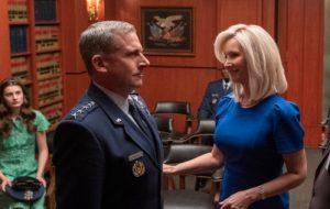 """Netflix anuncia data de estreia de """"Space Force"""", série com Steve Carell e Lisa Kudrow"""