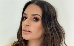 Lea Michele está grávida de seu primeiro filho