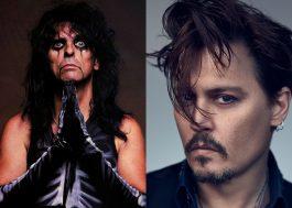 """Alice Cooper diz que Johnny Depp """"seria o melhor"""" para interpretá-lo em cinebiografia"""
