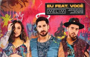"""Melim divulga capa da 1ª parte do álbum """"Eu feat. Você"""", que traz feats. com Lulu Santos, Rael e mais"""