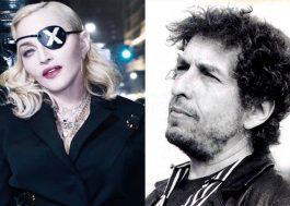 """""""Entretenimento pop não significa nada pra mim. Mas a Madonna é boa"""", disse Bob Dylan"""