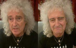 """Brian May, do Queen, conta que sofreu """"pequeno ataque cardíaco"""" neste mês"""