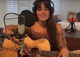 """Priceless Experiences at Home"": Camila Cabello disponibiliza 1ª parte de show acústico"