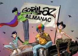 Gorillaz vai lançar almanaque com quebra-cabeças, jogos e curiosidades sobre a banda