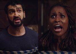 """Kumail Nanjiani e Issa Rae falam sobre processo de gravação de cena tensa de """"Um Crime para Dois"""""""