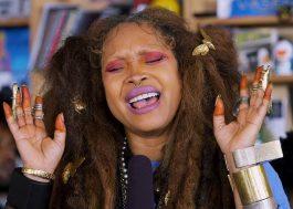 Erykah Badu e D'Angelo mostram música inédita com Slingbaum em programa de rádio