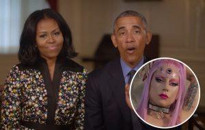 Michelle e Barack Obama, Lady Gaga e mais famosos participarão de cerimônias de formatura online