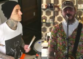 Travis Barker diz que irá compor músicas com Post Malone