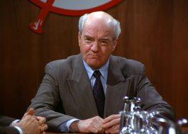 """Richard Herd, o Sr. Wilhelm de """"Seinfeld"""", morre aos 87 anos"""