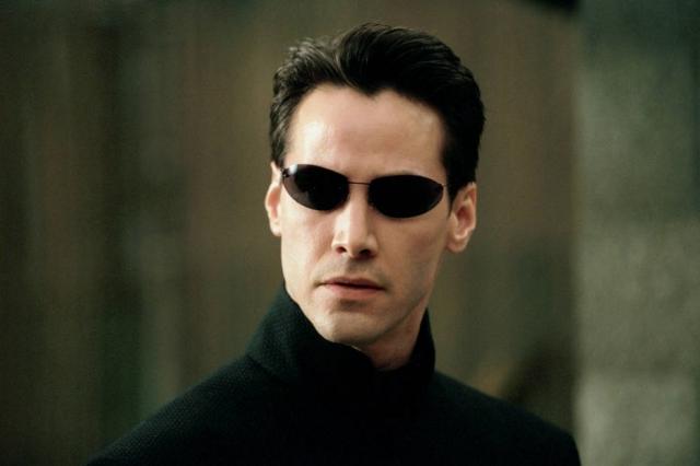 """Keanu Reeves em """"Matrix"""" (Reprodução)"""