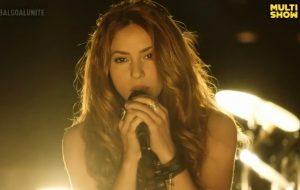 """Shakira faz apresentação enérgica de """"Sale el Sol"""" durante o """"Global Goal"""""""