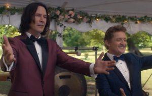 """Protagonistas viajam ao futuro no trailer de """"Bill & Ted 3"""""""