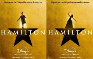 """""""Hamilton"""": Disney divulga novos pôsteres da gravação do musical"""