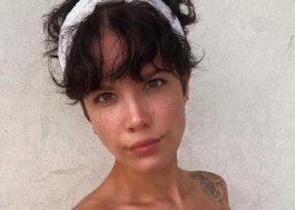 """Halsey conta que foi atingida por bala de borracha durante protestos: """"estou bem […] mas muitos não estão"""""""