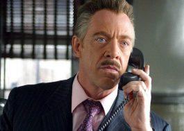 """J.K. Simmons revela que está contratado para os futuros filmes de """"Homem-Aranha"""""""