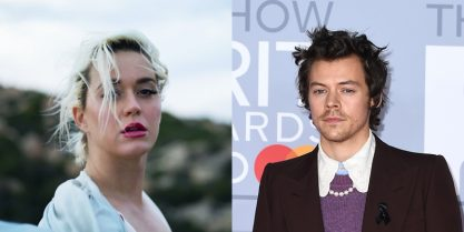 Katy e Harry na luta antirracista