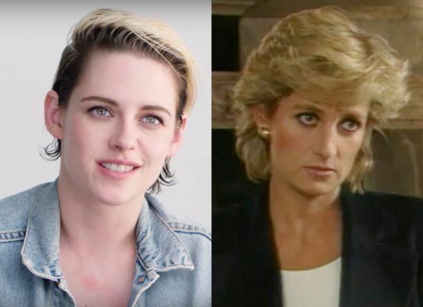 Kristen Stewart e Princesa Diana (Reprodução)