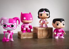 Funko lança colecionáveis da DC em apoio à pesquisa do câncer de mama