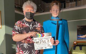 Pedro Almodóvar e Tilda Swinton dão início a filmagens de novo filme em inglês