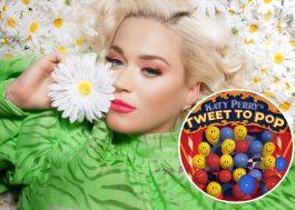 Katy Perry cria ação para revelar capa de novo álbum
