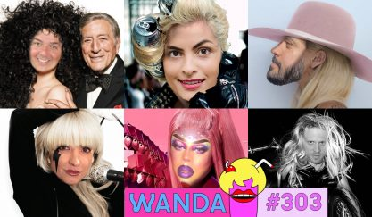 Enaltecendo Lady Gaga no Wanda <3