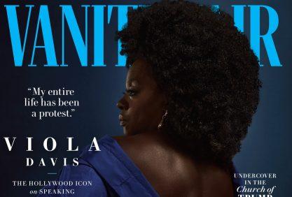 Viola Davis na Vanity Fair <3