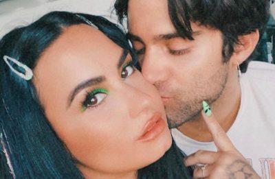Demi Lovato e Max Ehrich (Reprodução/Instagram)