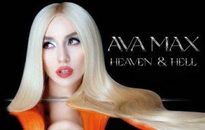 "Ava Max divulga capa e data de lançamento do álbum ""Heaven & Hell"""