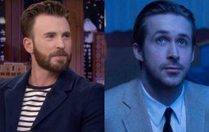 """Chris Evans e Ryan Gosling vão estrelar """"The Gray Man"""", filme dirigido pelos Irmãos Russo"""