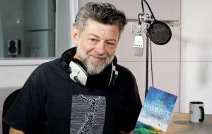 """""""O Hobbit"""" ganhará audiobook narrado por Andy Serkis <3"""