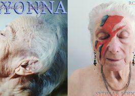 Idosos em quarentena recriam capas de álbuns icônicos de Madonna, David Bowie e mais
