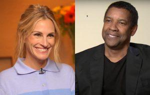 Julia Roberts e Denzel Washington vão estrelar novo filme da Netflix