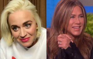 Katy Perry nega que tenha convidado Jennifer Aniston para ser madrinha da filha