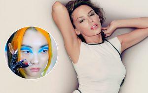 """Rina Sawayama diz que Kylie Minogue inspirou visuais de """"Comme Des Garçons (Like The Boys)"""""""