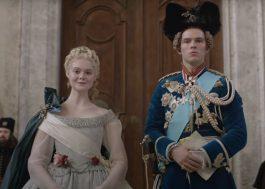 """""""The Great"""", estrelada por Elle Fanning e Nicholas Hoult, é renovada para 2ª temporada!"""