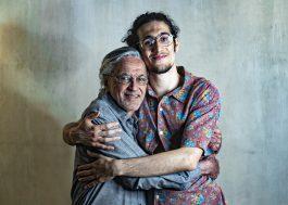 Caetano Veloso vai apresentar parceria inédita com o filho, Tom, durante live