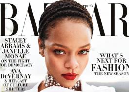 Até na quarentena! Rihanna mostra estilo e poder na capa da Harper's Bazaar de setembro