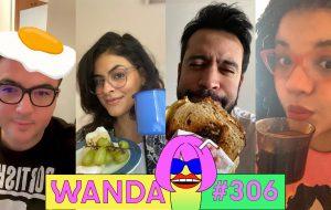 O programa matutino do Wanda está de volta com muita fofoca e Jamile Godoy