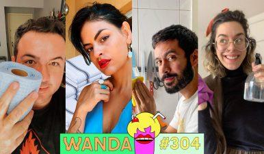 Faxinando muito no Wanda!