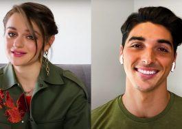 """""""A Barraca do Beijo 2"""": Joey King e Taylor Zakhar Perez falam sobre cena de competição de dança"""